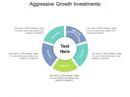 Aggressive Growth Investments Ppt Powerpoint Presentation Professional Skills Cpb