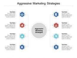 Aggressive Marketing Strategies Ppt Powerpoint Presentation Portfolio Shapes Cpb
