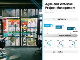 Agile And Waterfall Project Management