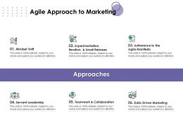 Agile Approach To Marketing Leadership Ppt Powerpoint Presentation Outline Inspiration