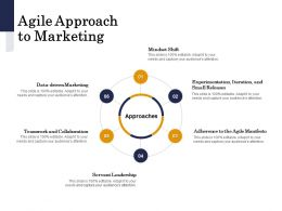 Agile Approach To Marketing Servant Ppt Powerpoint Presentation Portfolio