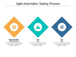 Agile Automation Testing Process Ppt Powerpoint Presentation Styles Layout Cpb