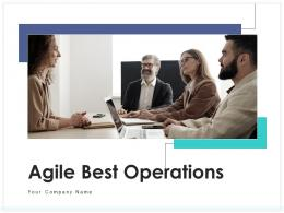Agile Best Operations Requirement Assessment Development Planning Management