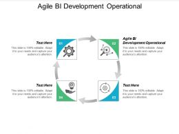 Agile BI Development Operational Ppt Powerpoint Presentation Slides Portfolio Cpb