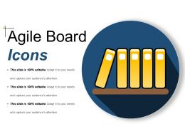 Agile Board Icons Example Of Ppt