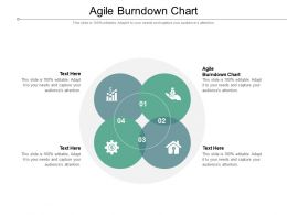Agile Burndown Chart Ppt Powerpoint Presentation Styles Objects Cpb