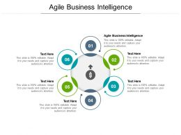 Agile Business Intelligence Ppt Powerpoint Presentation File Topics Cpb