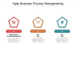 Agile Business Process Reengineering Ppt Powerpoint Presentation Gallery Slideshow Cpb