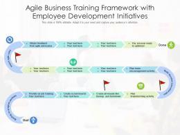 Agile Business Training Framework With Employee Development Initiatives