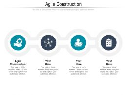 Agile Construction Ppt Powerpoint Presentation Show Cpb
