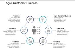 Agile Customer Success Ppt Powerpoint Presentation Icon Mockup Cpb