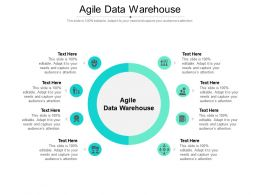 Agile Data Warehouse Ppt Powerpoint Presentation Visual Aids Ideas Cpb