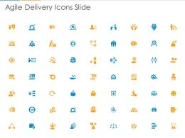Agile Delivery Icons Slide Ppt Powerpoint Presentation Infographics Pictures