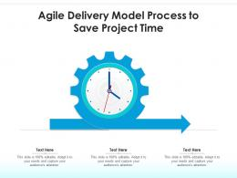 Agile Delivery Model Process To Save Project Time