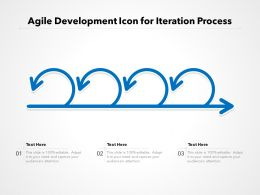 Agile Development Icon For Iteration Process