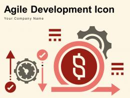 Agile Development Icon Iteration Process Stopwatch Planning Project Software