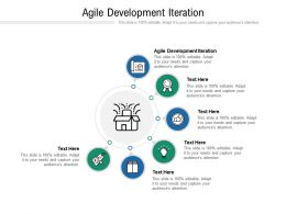 Agile Development Iteration Ppt Powerpoint Presentation Professional Vector Cpb