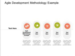 Agile Development Methodology Example Ppt Powerpoint Presentation Summary Example Introduction Cpb