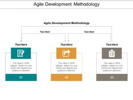 Agile Development Methodology Ppt Powerpoint Presentation Model Styles Cpb