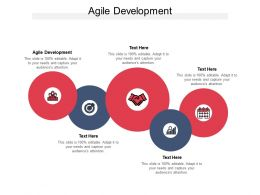 Agile Development Ppt Powerpoint Presentation Infographic Template Samples Cpb