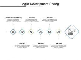 Agile Development Pricing Ppt Powerpoint Presentation Summary Designs Cpb