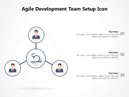 Agile Development Team Setup Icon
