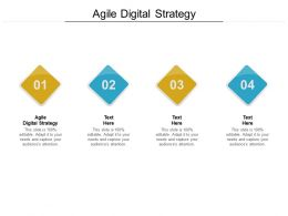Agile Digital Strategy Ppt Powerpoint Presentation Pictures Visuals Cpb