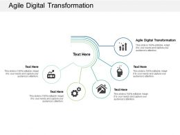 Agile Digital Transformation Ppt Powerpoint Presentation Visual Aids Background Images Cpb