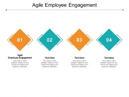 Agile Employee Engagement Ppt Powerpoint Presentation Gallery Show Cpb