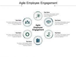 Agile Employee Engagement Ppt Powerpoint Presentation Portfolio Summary Cpb