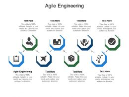 Agile Engineering Ppt Powerpoint Presentation Icon Demonstration Cpb