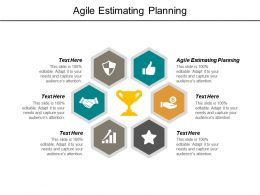 Agile Estimating Planning Ppt Powerpoint Presentation Model Vector Cpb