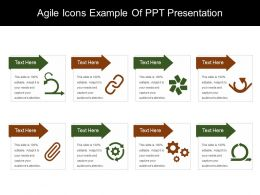 Agile Icons Example Of Ppt Presentation
