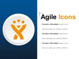 Agile Icons Good PPT Example