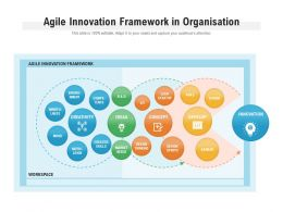 Agile Innovation Framework In Organisation
