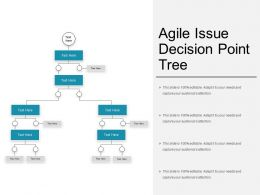 Agile Issue Decision Point Tree
