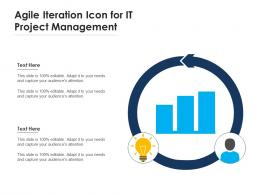 Agile Iteration Icon For It Project Management