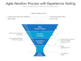 Agile Iteration Process With Experience Testing