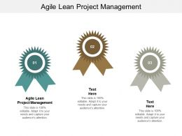 Agile Lean Project Management Ppt Powerpoint Presentation File Example Introduction Cpb
