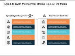 Agile Life Cycle Management Boston Square Risk Matrix Cpb