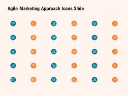 Agile Marketing Approach Icons Slide Ppt Powerpoint Presentation File