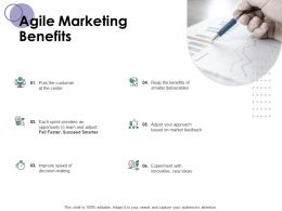 Agile Marketing Benefits Business Planning Ppt Powerpoint Presentation Layouts Graphic Images