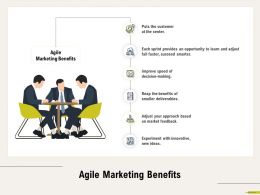 Agile Marketing Benefits Experiment M679 Ppt Powerpoint Presentation Styles Backgrounds