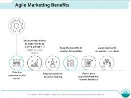 Agile Marketing Benefits Ppt Styles Inspiration