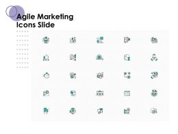 Agile Marketing Icons Slide Ppt Powerpoint Presentation Professional Graphics Template