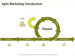 Agile Marketing Introduction Measure Ppt Powerpoint Presentation Slides Graphics