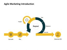 Agile Marketing Introduction Ppt Powerpoint Presentation Pictures Skills
