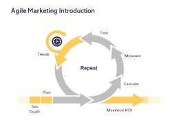 Agile Marketing Introduction Ppt Powerpoint Presentation Summary