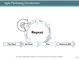 Agile Marketing Introduction Repeat Ppt Powerpoint Presentation Icon Slideshow