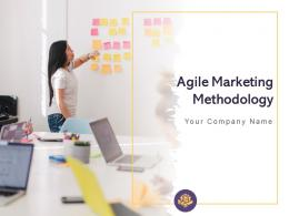 Agile Marketing Methodology Powerpoint Presentation Slides